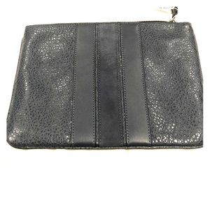 NWT Coach leather document holder clutch pouch
